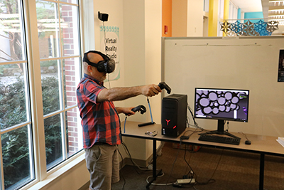 ARVR setup at the Kenan Science Library